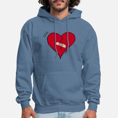 Brake Brake heart - Men's Hoodie