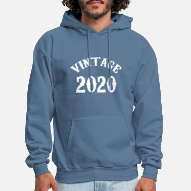 Birthday Vintage Shirt Born In 2020 Gift Tee - Men's Hoodie