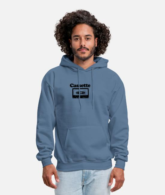 New Zealand Hoodies & Sweatshirts - Cassette New - Men's Hoodie denim blue