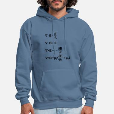 Maxwell's equations (differential) - Men's Hoodie