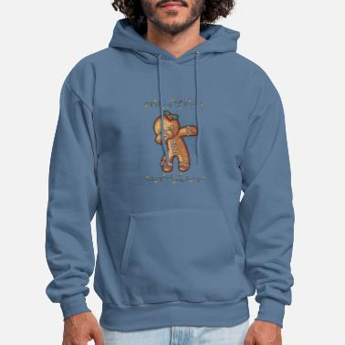 Dabbing Ginger Bread Fairy Light Graphic Gifts Chr - Men's Hoodie