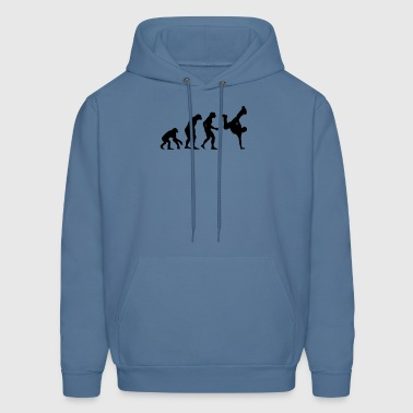 break dance evolution - Men's Hoodie