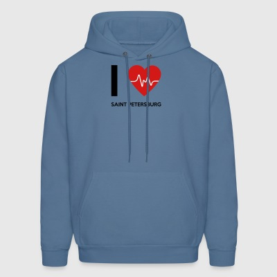 I Love Saint Petersburg - Men's Hoodie