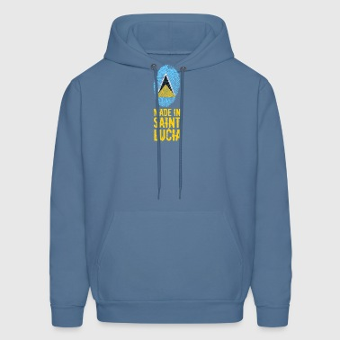 Made In Saint Lucia / St. Lucia - Men's Hoodie