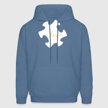 Autism Love - Autism Awareness - Men's Hoodie