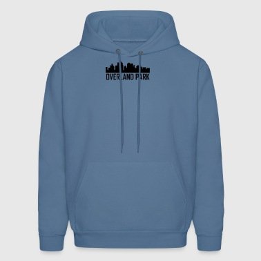 Overland Park Kansas City Skyline - Men's Hoodie