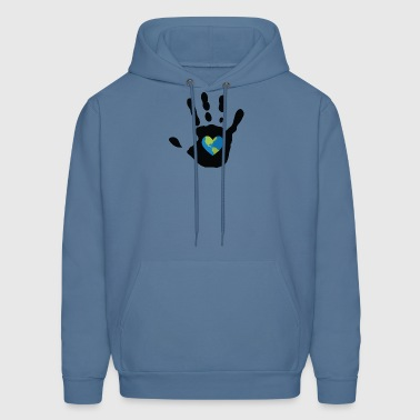 The earth in my hand - Men's Hoodie