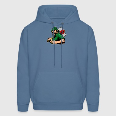 green_suit_lumberman - Men's Hoodie