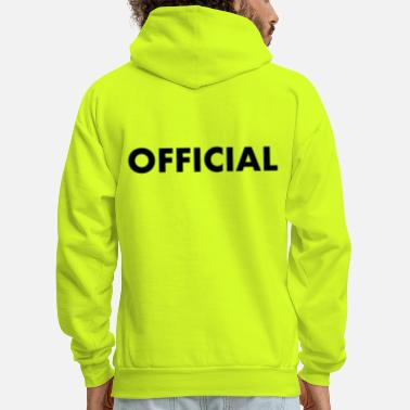 Official Person OFFICIAL - Men's Hoodie