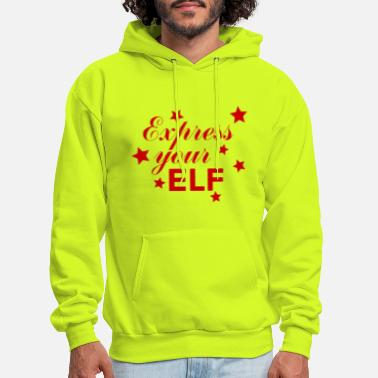 Express Your Elf - Men's Hoodie