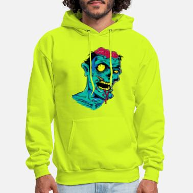 Ghost Zombie - Undead - Geek - Horror - Scifi - Dead - Men's Hoodie