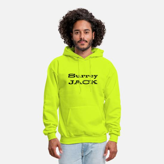 Jack Hoodies & Sweatshirts - Surrey Jack British Columbia - Men's Hoodie safety green