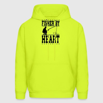 fisher by heart - Men's Hoodie