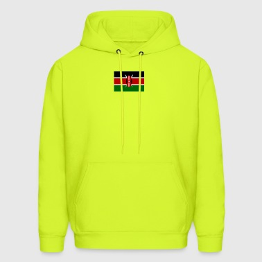 kenyan flag graphic - Men's Hoodie