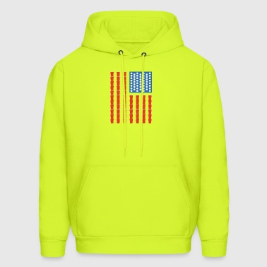 USA Beer Pong Champ - Men's Hoodie