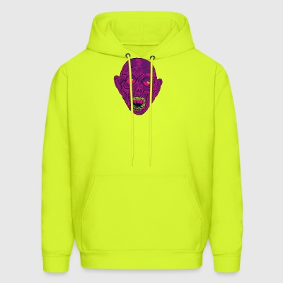 Graveyard Ghoul Ghastly Grape - Men's Hoodie