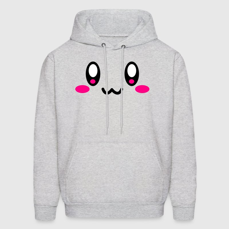 Super Cute Face - Men's Hoodie
