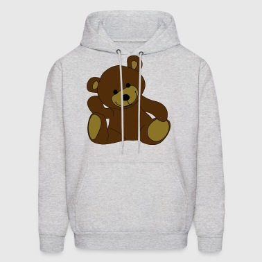 Teddy, Teddy Bear, stuffed animal - Men's Hoodie