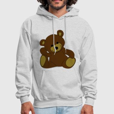 Stuffed Animal Teddy, Teddy Bear, stuffed animal - Men's Hoodie