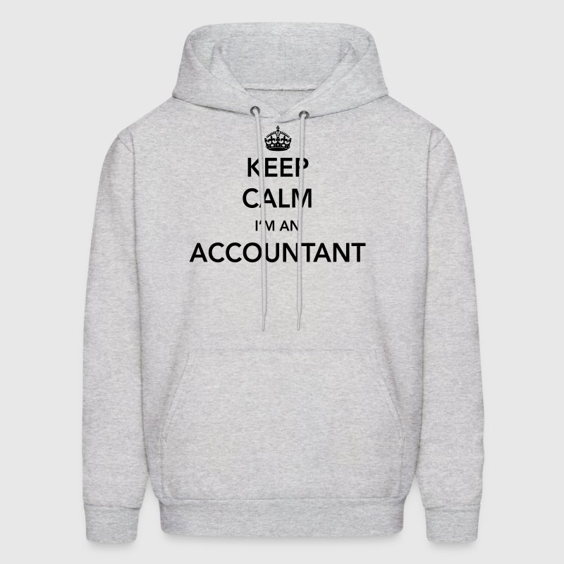 Keep Calm, I'm an Accountant - Men's Hoodie