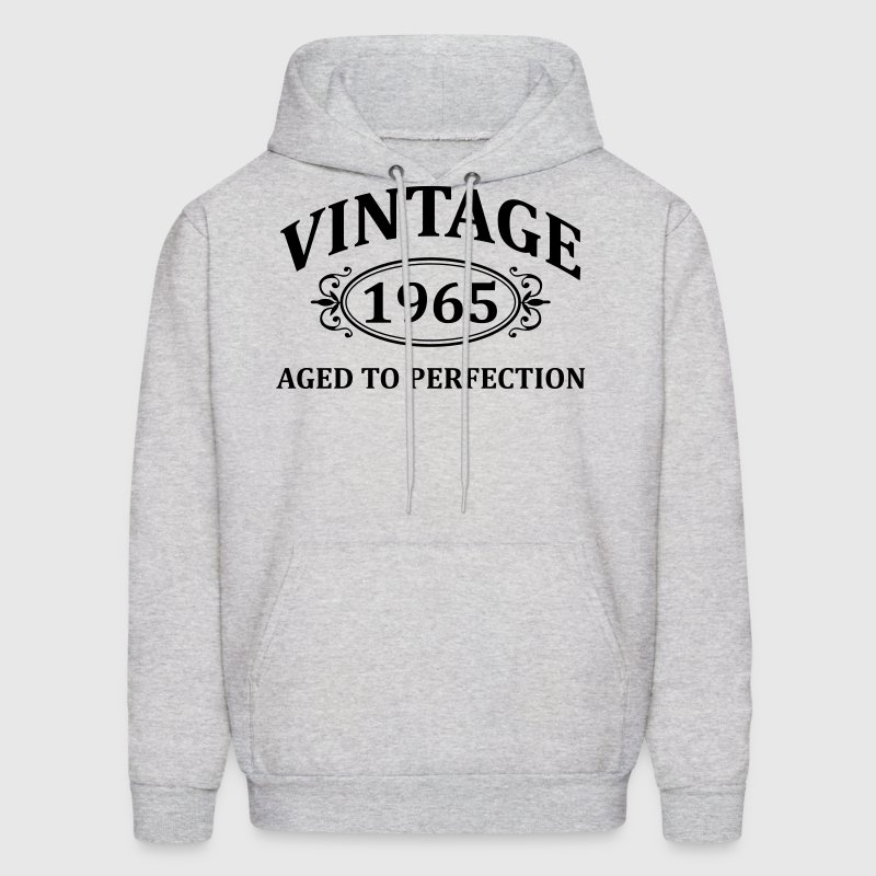 vintage 1965 aged to perfection - Men's Hoodie