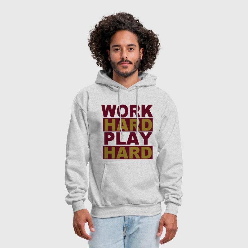 WORK HARD PLAY HARD - Men's Hoodie