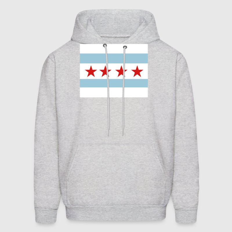 The Chicago Flag - Men's Hoodie