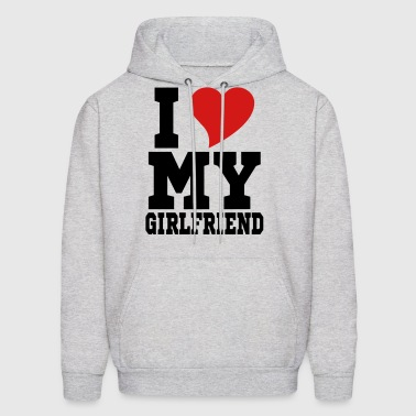 i Love My Girlfriend - Men's Hoodie