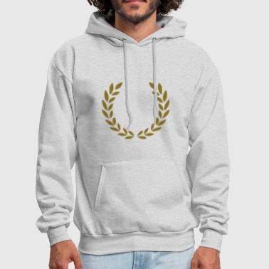 laurel wreath - Men's Hoodie