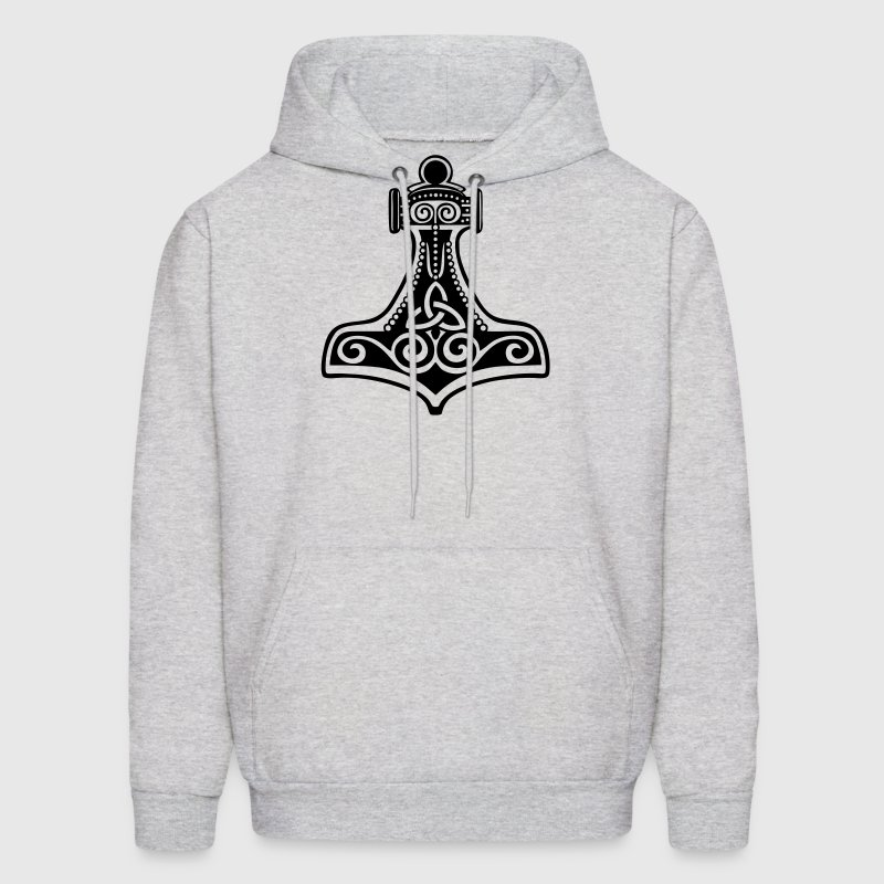 Thorhammer, Symbol - Force, Strength & Courage/ - Men's Hoodie