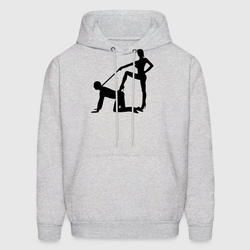 scenes from a marriage dominatrix domina whip lash high heel bachelor party bachelorette wedding leash - Men's Hoodie