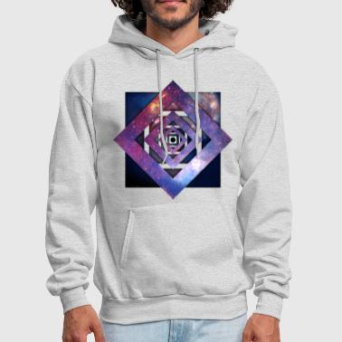 Art - Twisted Galaxy - Men's Hoodie
