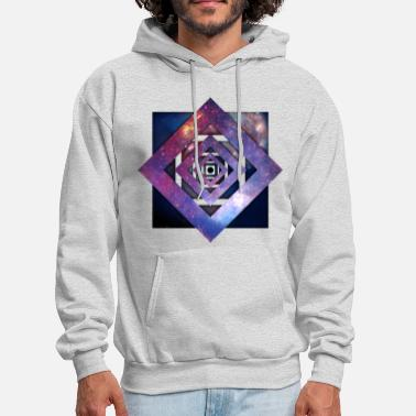 Cool Art - Twisted Galaxy - Men's Hoodie