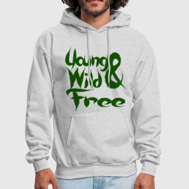 Young Wild and Free - Men's Hoodie