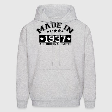 MADE IN 1937 ALL ORIGINAL PARTS - Men's Hoodie