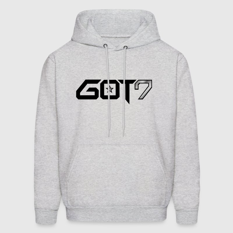 GOT7 Logo - Black - Men's Hoodie