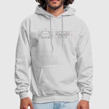 Racing car - Men's Hoodie