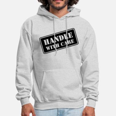 Fragile Handle With Care HD VECTOR - Men's Hoodie