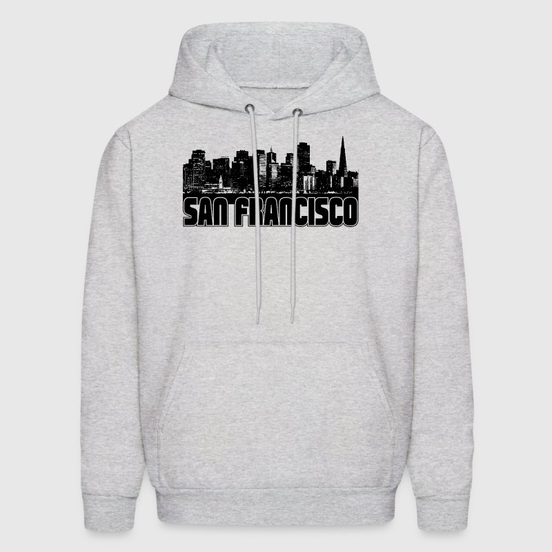 San Francisco Skyline - Men's Hoodie