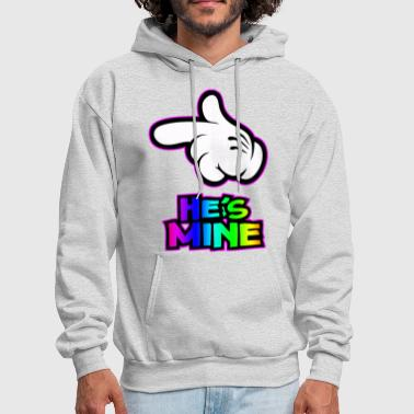 Relationship he is mine - Men's Hoodie