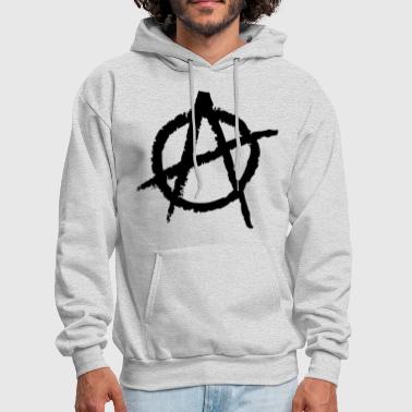 Anarchism Anarchy Symbol - Men's Hoodie