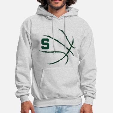 State MSU Basketball Michigan State Spartans - Men's Hoodie