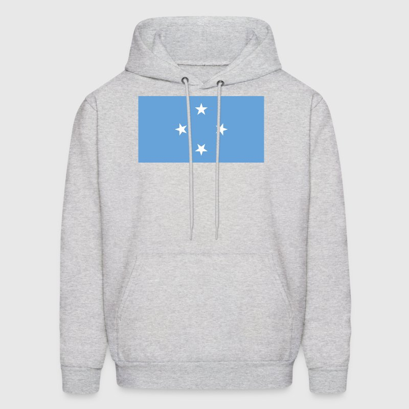 Micronesia, Federated States, Flag - Men's Hoodie