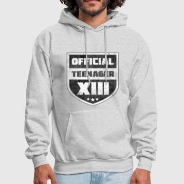 Official Teenager XIII 13th Birthday Teenager Gift - Men's Hoodie
