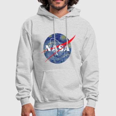 NASA starry night - Men's Hoodie