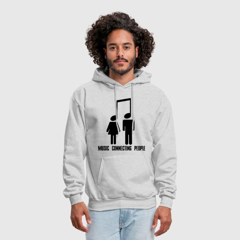 Music Connecting People - Men's Hoodie