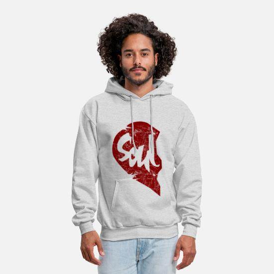Soul Hoodies & Sweatshirts - soul - couple - Men's Hoodie ash