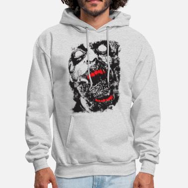 Scifi Zombie - Geek - Horror - Scifi - Men's Hoodie