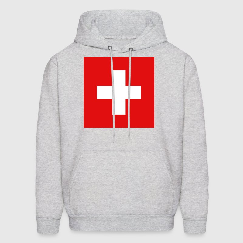 Switzerland Flag - Men's Hoodie