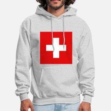 Switzerland Switzerland Flag - Men's Hoodie